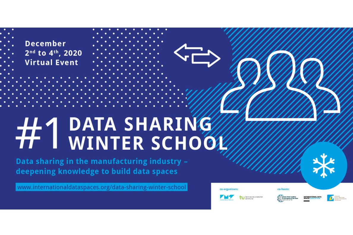 "Join the session ""Design Principles for European Data Spaces"" @ Data Sharing Winter School #1"