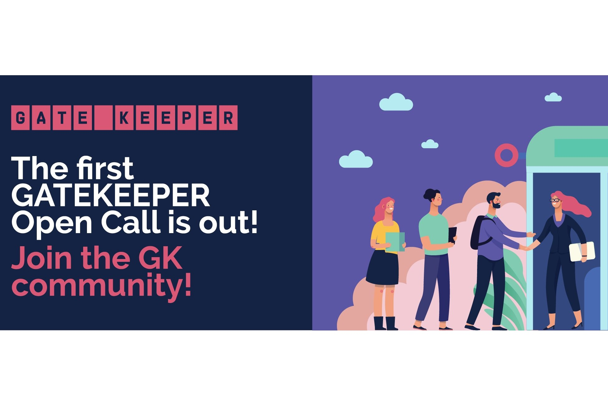 The GATEKEEPER 1st Open Call is now open!