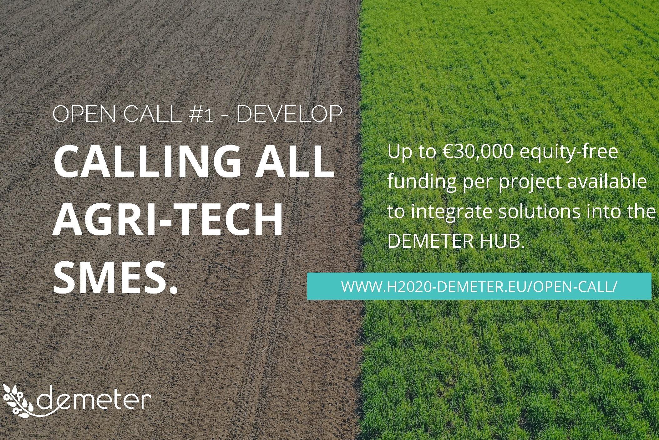 Join DEMETER Open Call Webinar!