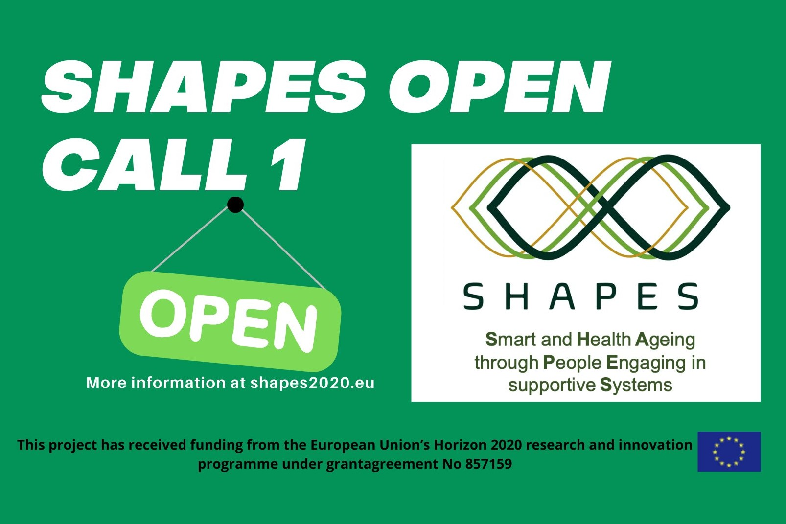 SHAPES project has launched its 1st Open Call!