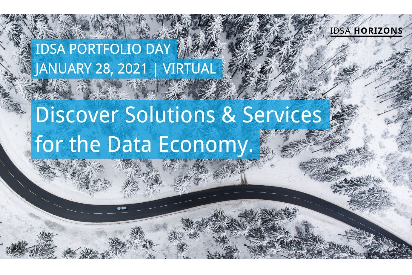 IDSA Portfolio Day: Solutions & Services for the Data Economy