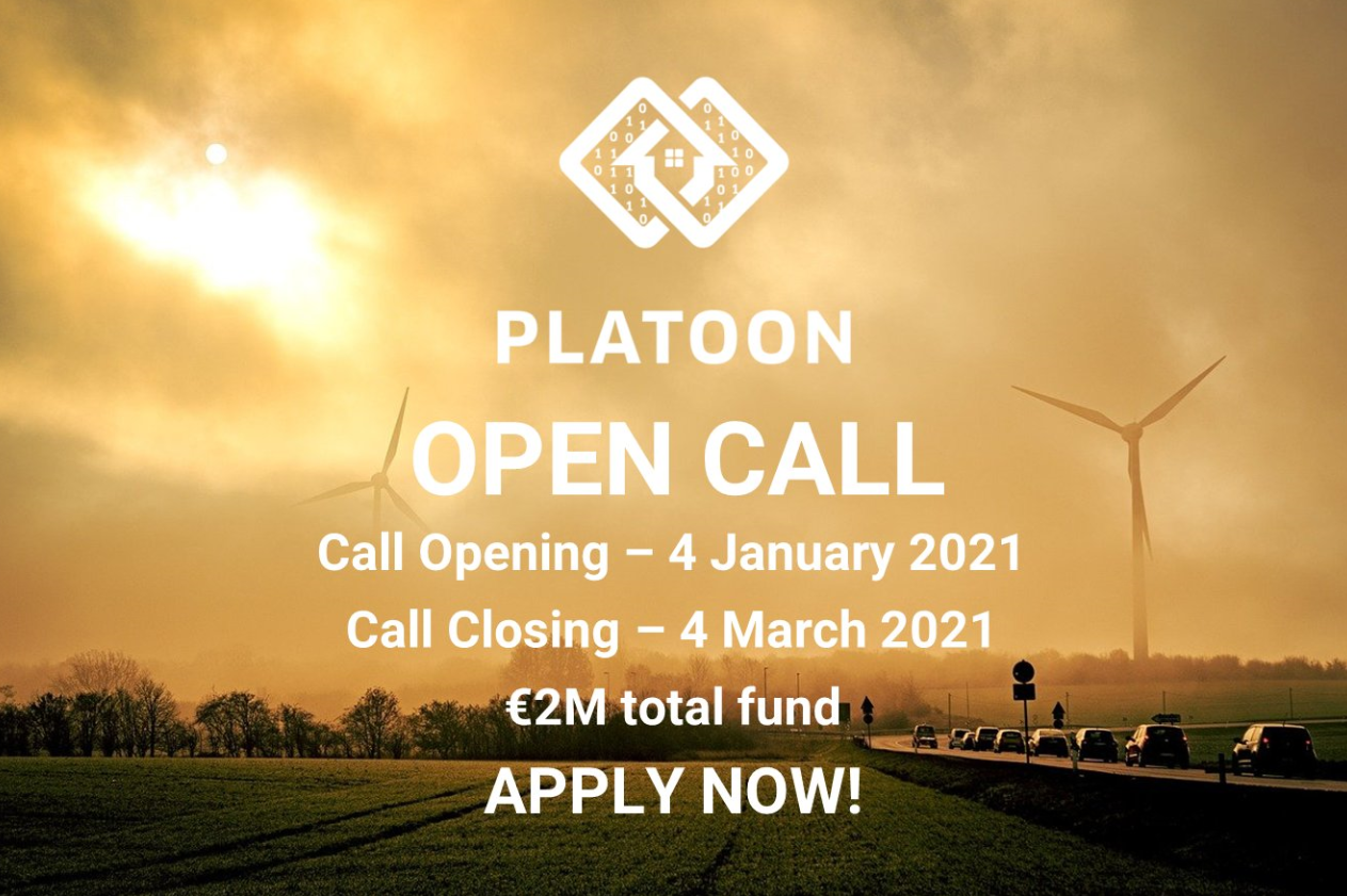 PLATOON has launched its first Open Call!