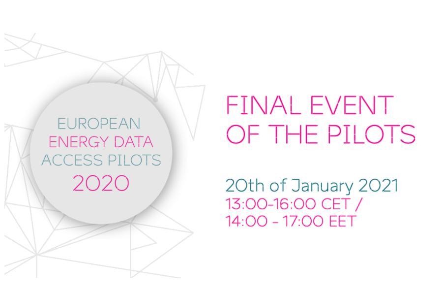 European Energy Data Access Pilots Final Event