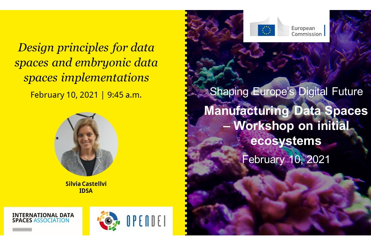 Manufacturing Data Spaces – Workshop on initial ecosystems