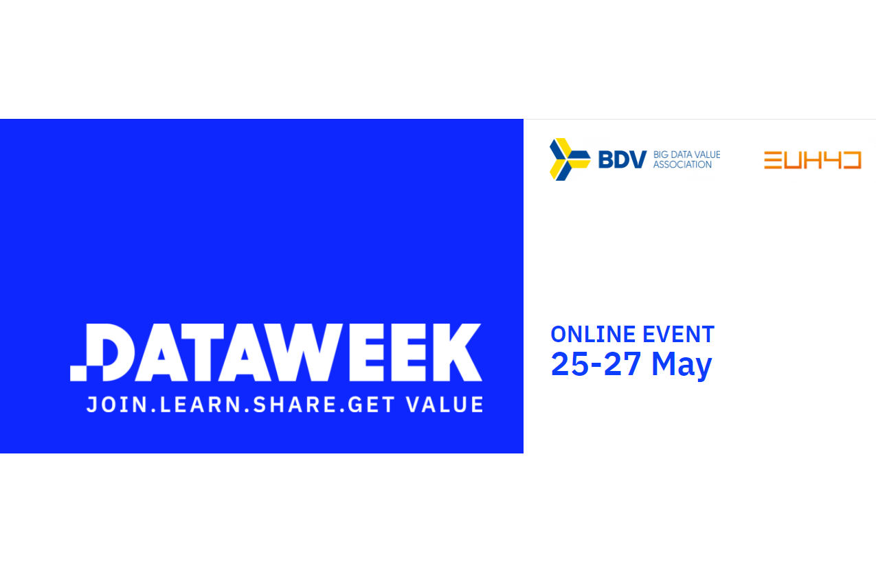 Save the date for Data Week 2021