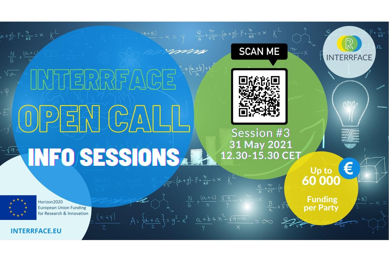 3rd INTERRFACE Open Call Webinar